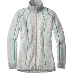 Smartwool Dacono full zip merino wool sweater
